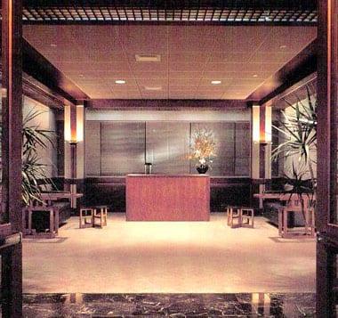 Office reception area, New York, NY