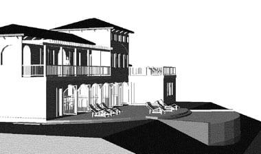 Resort, under design development, Costa Rica