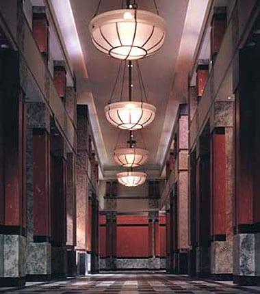 Elevator lobby, New York, NY
