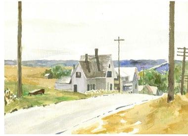 Truro, Cape Cod, Watercolor
