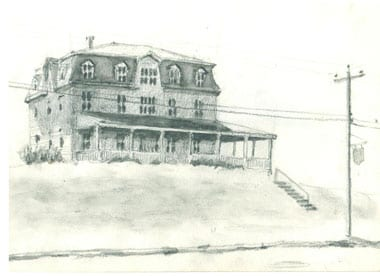 Block Island, Sketch