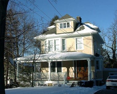 Full house reconstruction (front), Hastings on Hudson, NY