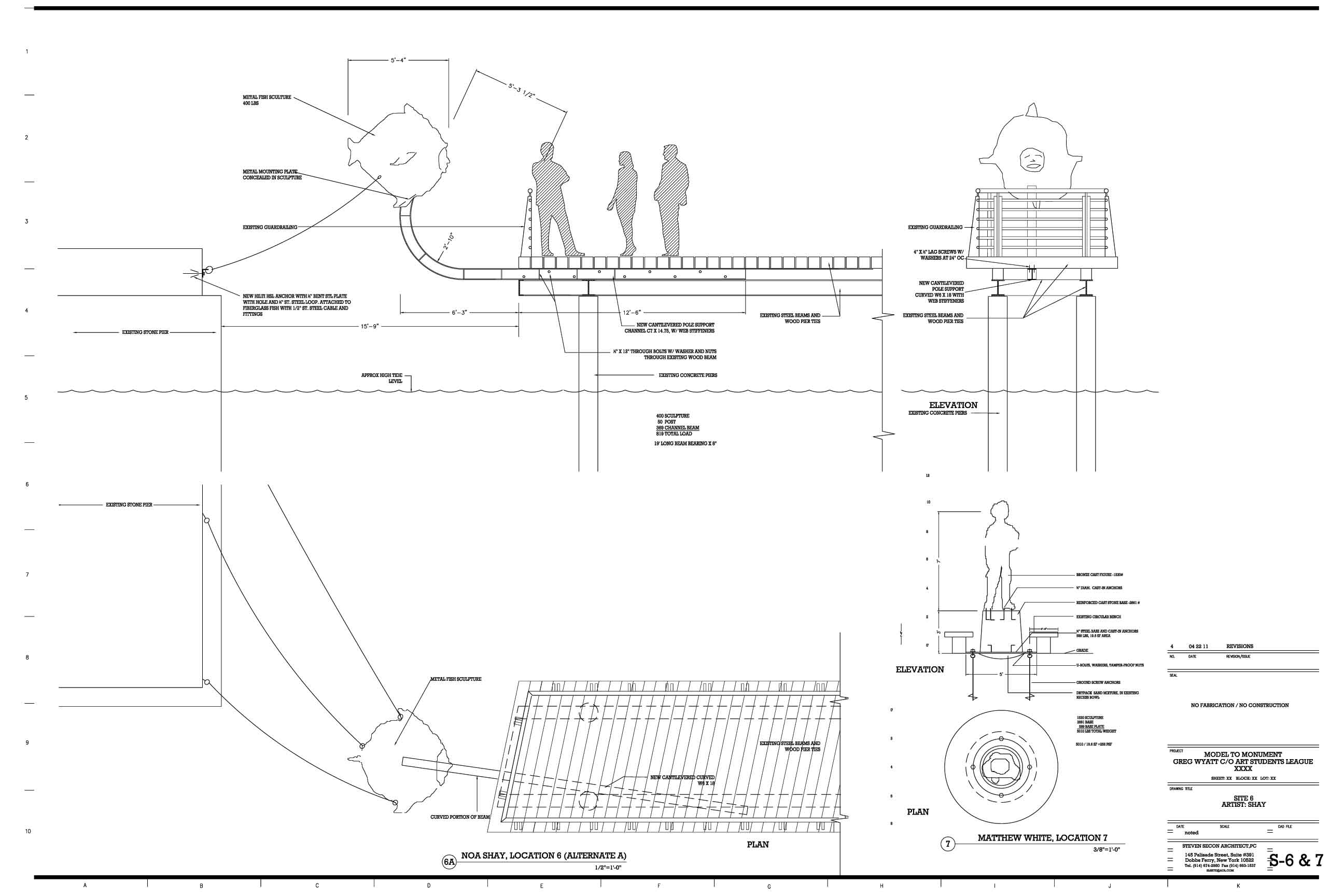 Technical Drawings for Sculpture