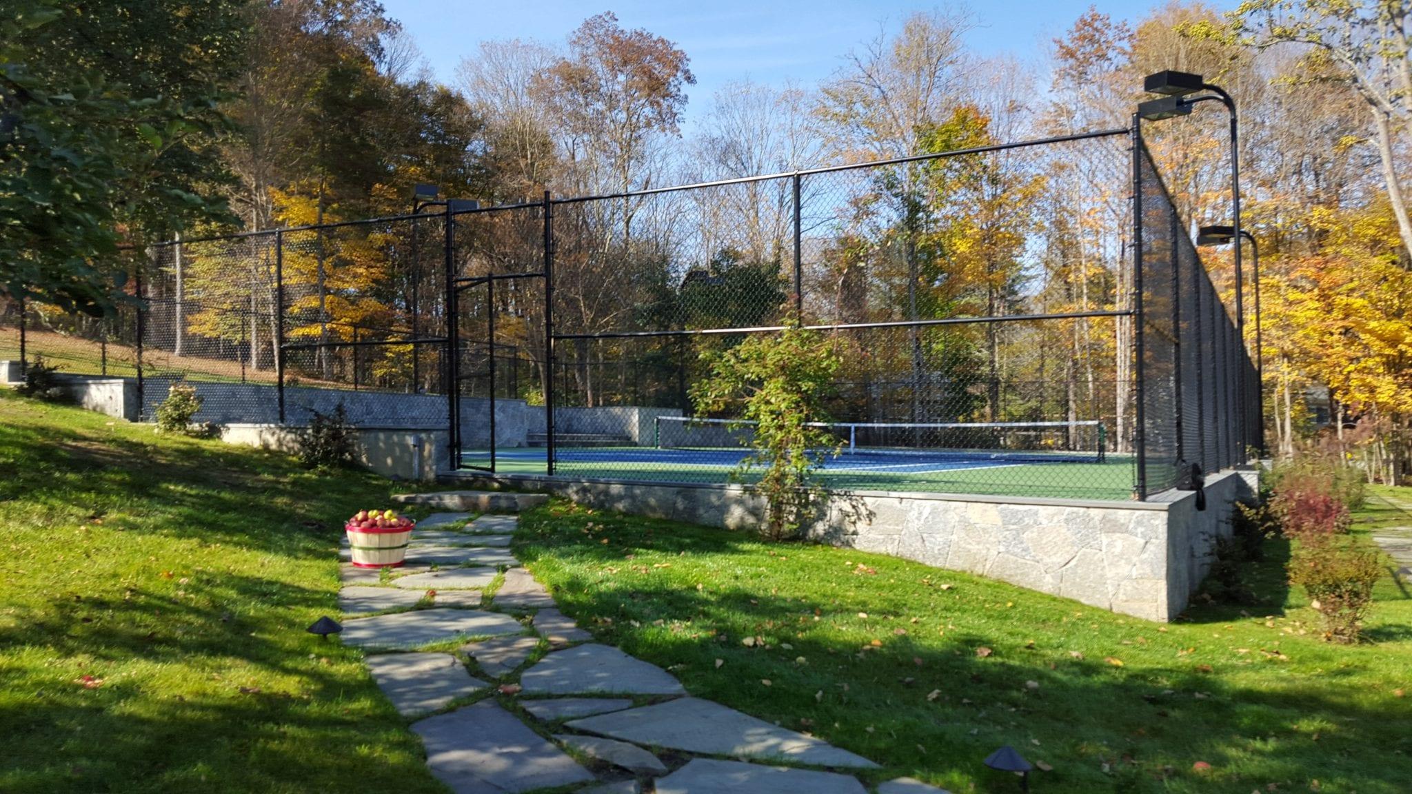Katonah NY, Tennis Court